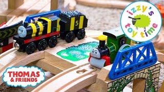 Thomas and Friends   Thomas Train Bridge Tunnel Challenge with Brio   Videos for Children