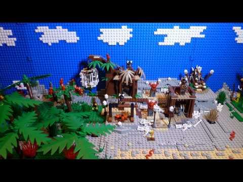 Vidéo LEGO Pirates des Caraïbes 4182 : Prisonnier des cannibales