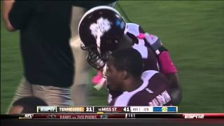 Malcolm Johnson Mississippi State One Handed Catch