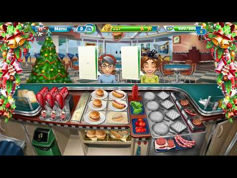 Cooking Fever || Fast Food Court || Level #13 || Games For Kids || 3 ⭐⭐⭐