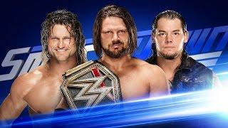 Nonton WWE SmackDown live 27 December 2016 Aj styles vs Dolph ziggler vs boron Corbin triple match Film Subtitle Indonesia Streaming Movie Download