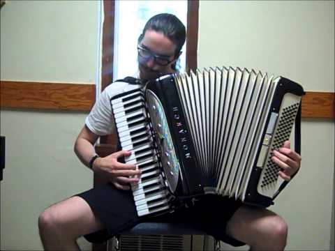 Dragonforce – Through the Fire and Flames [accordion cover]
