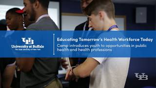 Summer camp introduces local high school students to opportunities in public health and health professions.