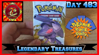 Pokemon Pack Daily Legendary Treasures Booster Opening Day 483 - Featuring James Collects by ThePokeCapital