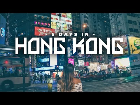 Hong Kong Travel Guide: A 5-Day Itinerary (Macau Included!) 🇭🇰