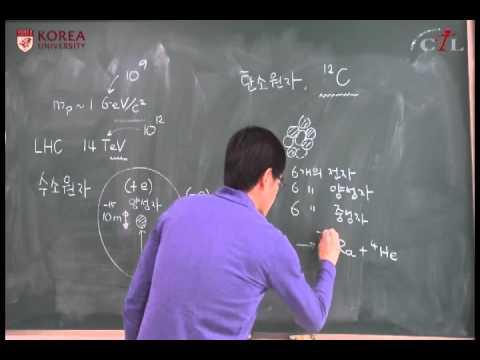 (2014-1) 한국의 중이온가속기: 4강 원소의 종류