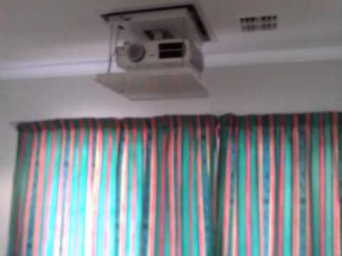 Projector Lifts Video Image