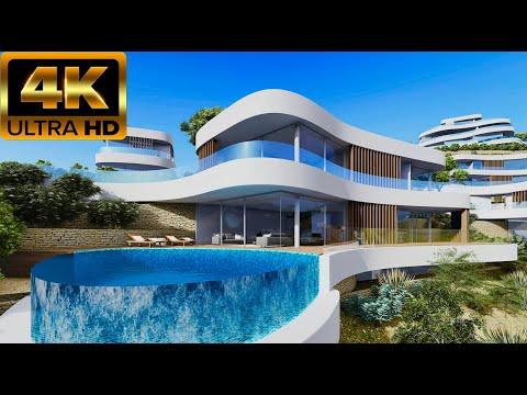 От 1950000€/Новые элитные дома в Бенидорме/Недвижимость в Испании 2020/Элитная недвижимость Испании