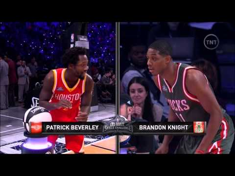 Patrick Beverley wins the 2015 All-Star Skills Challenge