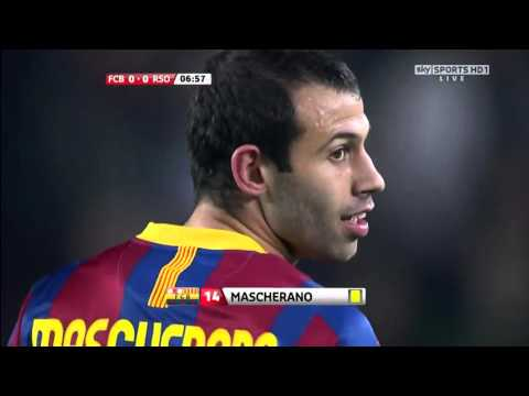 Barcelona Vs Real Sociedad La Liga 12-12-2010 Full Match 720p