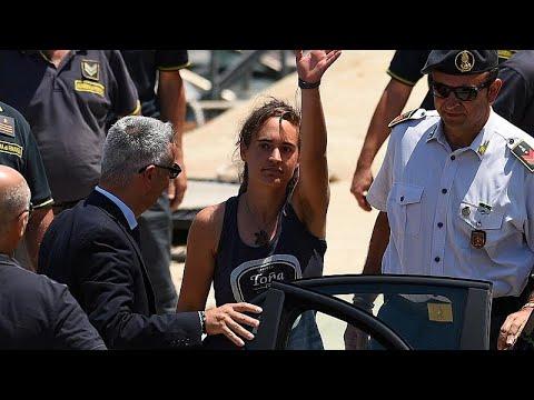 Ελεύθερη η πλοίαρχος του Sea Watch Καρόλα Ρακέτε