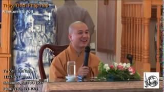 Thầy. Thích Pháp Hòa - Chú Mèo Nhà Phật