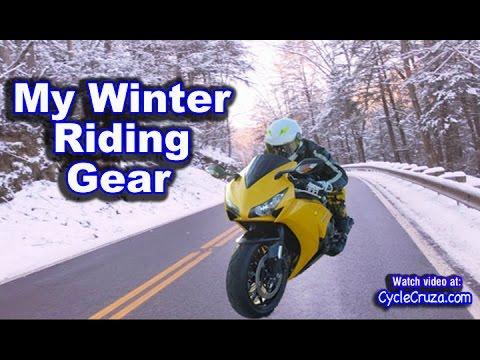 My Motorcycle Winter Gear 2015 | MotoVlog