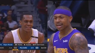 Video Isaiah Thomas Gets Clowned By Rajon Rondo After Getting Technical Foul! MP3, 3GP, MP4, WEBM, AVI, FLV Juni 2018