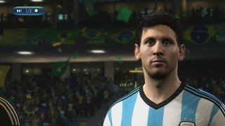 Video 2014 FIFA World Cup Brazil - Brazil vs Argentina - [Online World Cup Gameplay] MP3, 3GP, MP4, WEBM, AVI, FLV Desember 2017