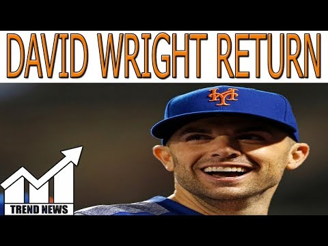 David Wright will play in Mets' season-ending homestand
