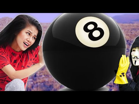 GAME MASTER CHALLENGE GIANT SIZE POOL GAME In Real Life Escape Room (24 Hour Challenge 3am Riddles)