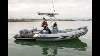 Zodiac Pro Open 650 w/ Twin 70 HP Yamaha 4-Stroke - One Wake by The Smoking Tire
