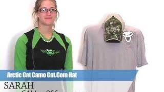 3. Arctic Cat Camo Cat.Com Hat