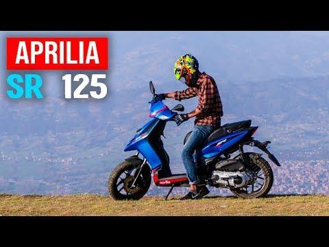 (APRILIA SR 125 (A Short Commercial Type Ko Video)...116 sec)