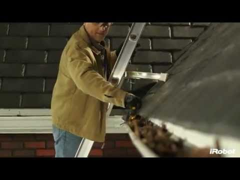 iRobot Looj 330 - Gutter cleaning robot, the official video