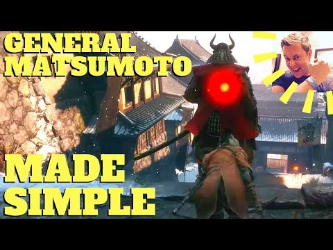 Sekiro - General Kuranosuke Matsumoto Made Simple (Stealth + Safest + Easiest Method)