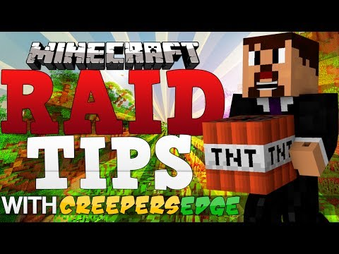 Minecraft Raid Tips/Tactics – Two Base Finding Methods!