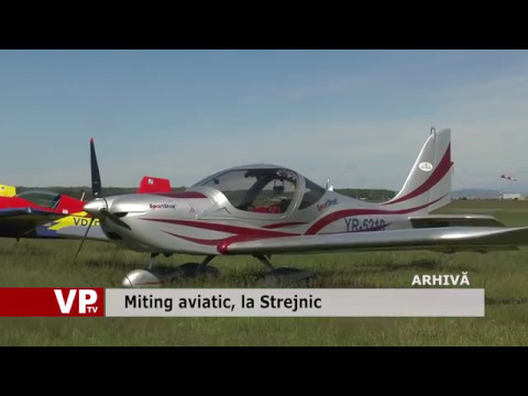 Miting aviatic, la Strejnic