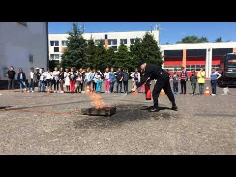 Wideo1: Leszczyńska Akademia Bezpieczeństwa - zajęcia praktyczne