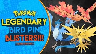Pokémon Cards - Team Valor vs Team Mystic vs Team Instinct! | Legendary Bird Pin Blister Battle! by The Pokémon Evolutionaries