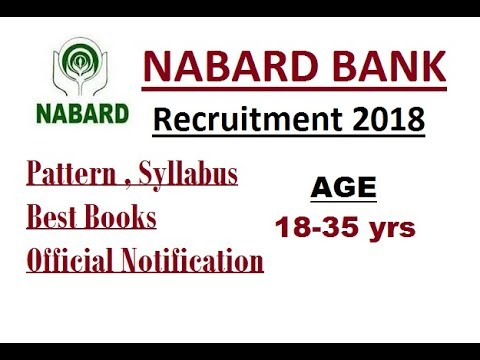 NABARD Bank Recruitment 2018 For Development Assistant - Pattern, Syllabus &More