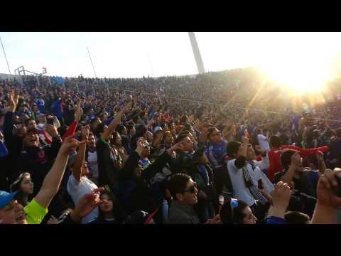 Video - El Bulla va caminando para Pedrero / U de Chile vs Santiago Wanderers 2014 - Los de Abajo - Universidad de Chile - La U - Chile