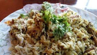 Kerala's most popular and tasty biriyani is this authentic and aromatic Thalassery style chicken biriyani