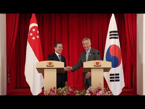 Joint Press Conference with South Korean President Moon Jae-in