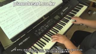 케이윌(K.Will) - 촌스럽게 왜 이래(You Don't Know Love) 피아노 연주,RD-700NX