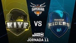 SUPERLIGA ORANGE - KIYF VS MOVISTAR RIDERS- Jornada 11 - #SuperligaOrangeCR11