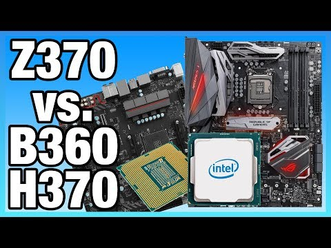 Intel Z370 vs. B360 Differences on i5-8400 & 8700K | Benchmark