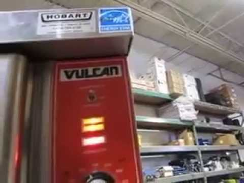 Vulcan VC4GC Convection Oven Double Stack Set Full Size Natural Gas 40