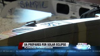 As millions across the country will gaze up at the sky on Monday to watch the total solar eclipse. Many people in Tucson will head...
