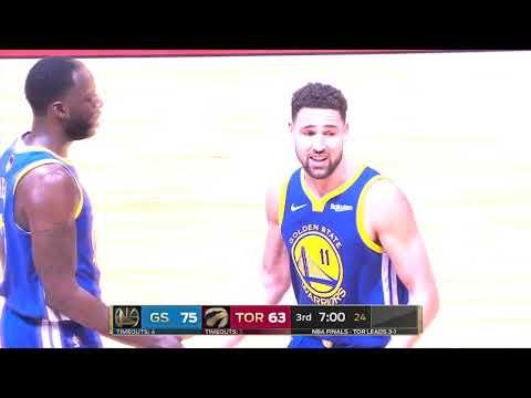 Golden State Warriors vs Toronto Raptors  June 10, 2019