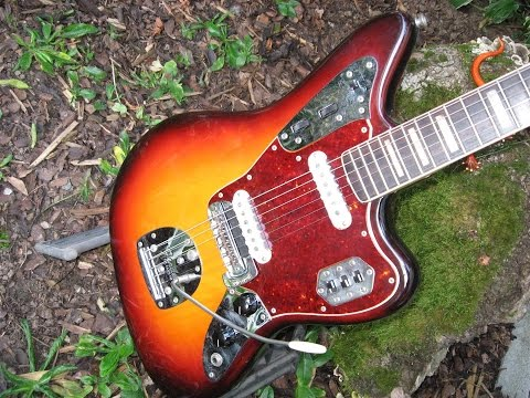 1966 Fender Jaguar – replacing the Neck Pickup