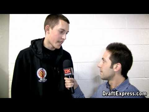 Kyle Wiltjer - 2011 McDonald's All-American Game (Interview & Practice Highlights)
