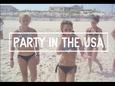 USA - Party in the USA by Miley Cyrus Produced by Jackie Starring: Chrissy, Jessica, Camille, Megan Follow us on Twitter! https://twitter.com/jackiecelona https://...