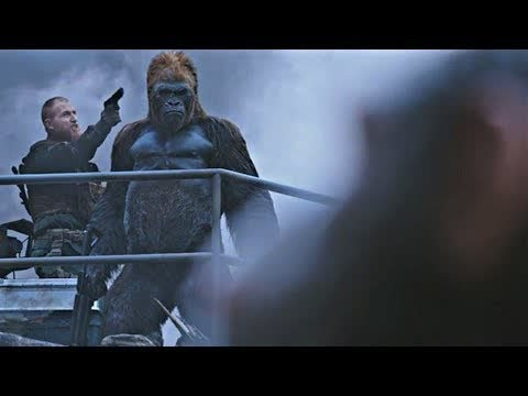 Red Donkey Saves Caesar - Death Scene | War for the Planet of the Apes (2017)#LOWI