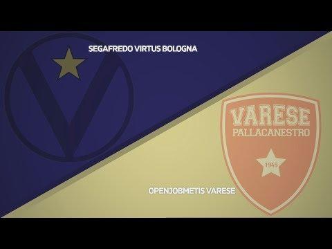 Virtus, gli highlights del match contro Varese