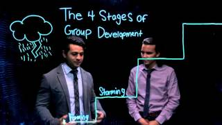 Andrew and Tanner explain what happens in each of the four steps of group development; what they are, and why they're...