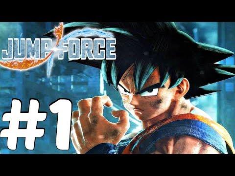JUMP FORCE - Gameplay Walkthrough Part 1 - Full Beta [1080p 60fps]