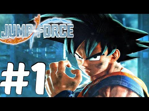 JUMP FORCE - Gameplay Walkthrough Part 1 - Full Beta [1080p 60fps]