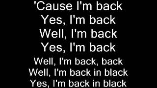 Video AC DC Back in Black (lyrics) MP3, 3GP, MP4, WEBM, AVI, FLV Maret 2018
