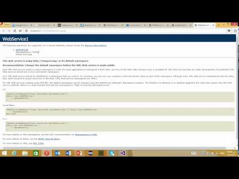 #29 ASP.NET Tutorial How could you use Web Services